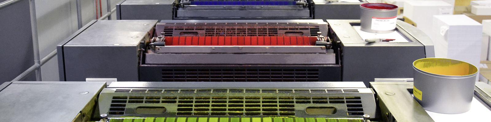 Reinigungstücher für die Druckindustrie