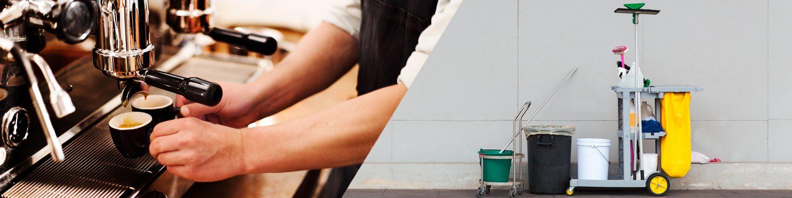 Reinigungstücher für Gebäude, Haushalt, Gastronomie